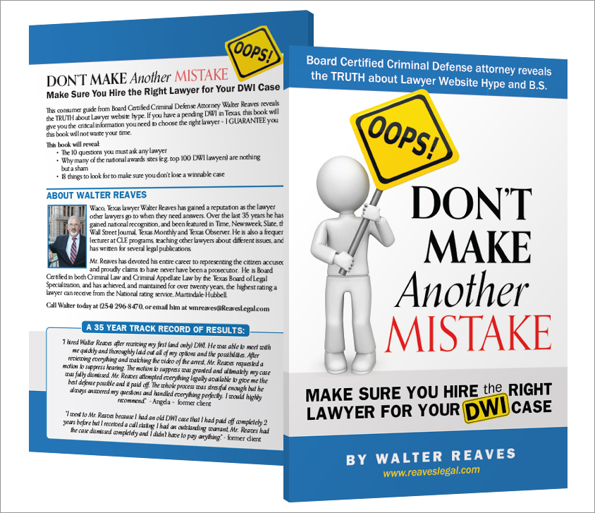 Book Cover: Don't Make Another Mistake